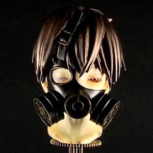 Least Fatal Dose ガレージキット(ガスマスク少年胸像/Gas Mask Boy)