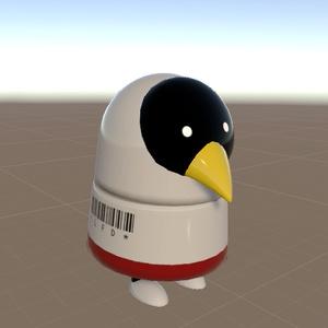 ぽちめか:トリコーン試作機 アバター(試作機[白]&メタル)VRChat
