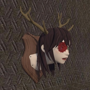 Hunting Trophy ハンティングトロフィー 3Dモデル VRChat