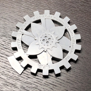 L.F.D. 歯車台座 6.5cm (グレー1枚)