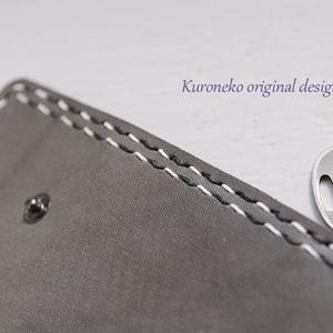 天龍モチーフ 本革手縫いキーケース