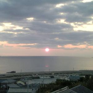 背景素材集:夕日