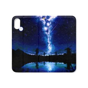 湖の水鏡iPhoneXs/Xケース