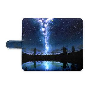 湖の水鏡AndroidケースL