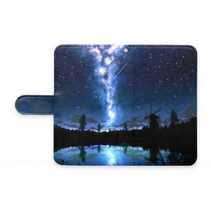 湖の水鏡AndroidケースM