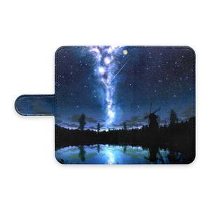 湖の水鏡AndroidケースS