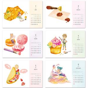 【年内限定販売】2019年 スイーツカレンダー