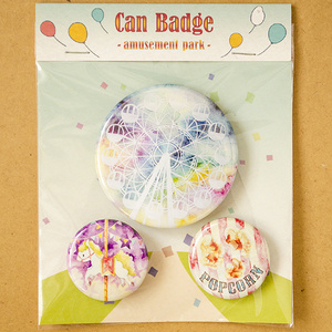 Can Badge -amusement park-