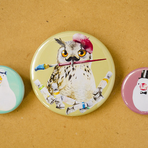 Can Badge -bird-