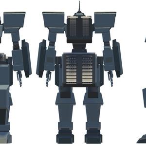 VRChat向けロボットモデルType:B