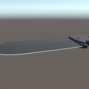 3Dモデル コンバットナイフ