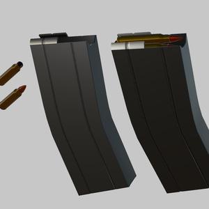 3Dモデル 5.56mm PDW/アサルトカービン