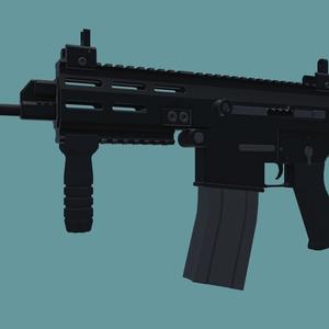 3Dモデル 5.56mm PDW