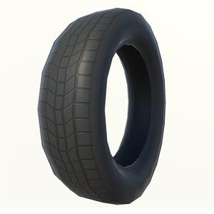 3Dモデル タイヤ