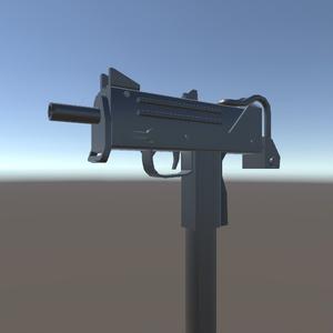 3Dモデル サブマシンガン