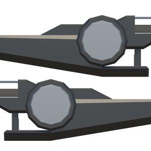3Dモデル ビームライフル