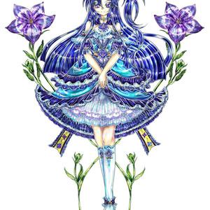 風鳴翼(4期ギア/オリジナルデザインドレス)クリアファイル