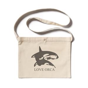 LOVE ORCA サコッシュ
