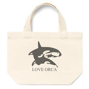 LOVE ORCA トートバッグ Sサイズ