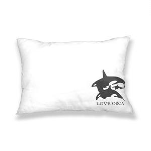 LOVE ORCA 枕カバー