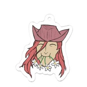 モーリュの花を食べるメフィスト