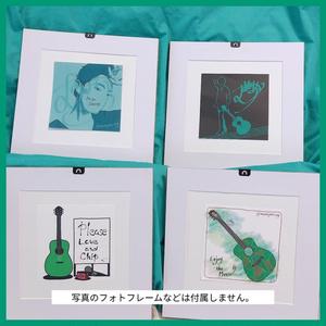 緑のモチーフ・ポストカード