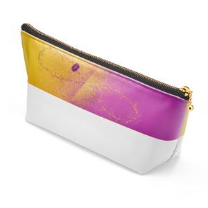 黄&紫ポーチ