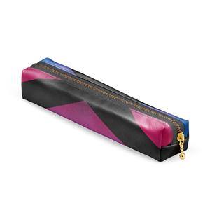 赤紫×青 推し色ペンケース