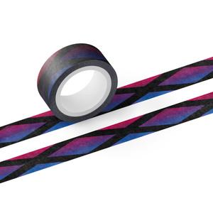 赤紫×青 推し色マステ
