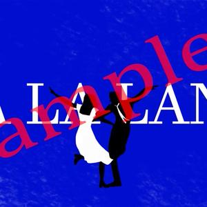 L LA LAND ポスター 【ラ・ラ・ランド】