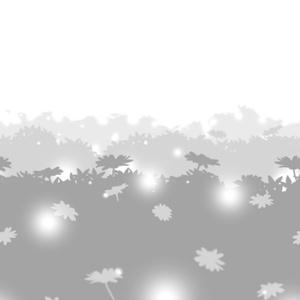 【無料配布】コミスタ用トーン『花畑_シームレス』
