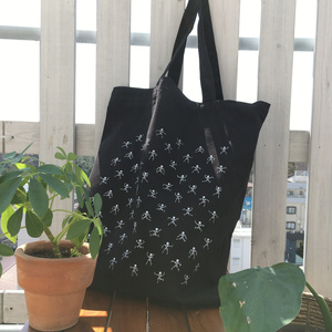 Skelly Town - Tote - Black