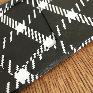 tartan - Paper wallet