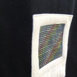 Pico-8 PC boot screen - Tshirt - Black(White)