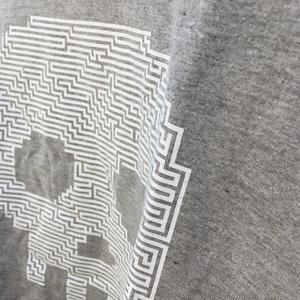 Skull Maze - Tshirt - Gray