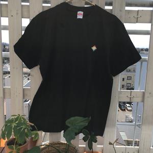 Pico-8 star LEFT - T-shirt - Black