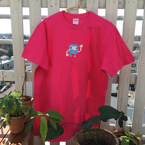 Griploid - Tshirt - Hot Pink