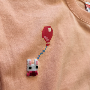 Balloon and mimo - Tshirt - Light Pink