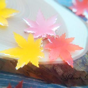 new✨もちもちの花飾り~モミジ~