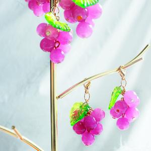 New✨もちもちの果実飾り~葡萄~