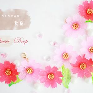 もちもちの花飾り~秋桜2021~