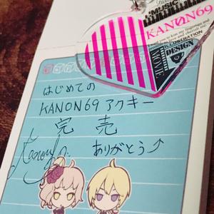 【完売】アクリルキーホルダー#1