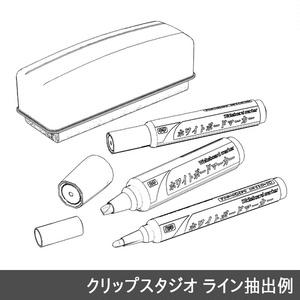 【3D素材】ホワイトボードマーカー