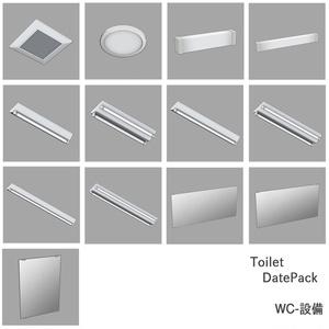 【Hinamo3D】Toilet DatePack