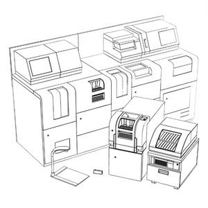 【3D素材】金融機器