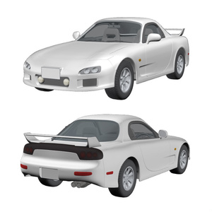【3D素材】スポーツカー