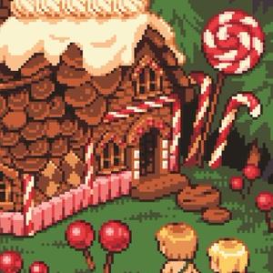 童話の建物