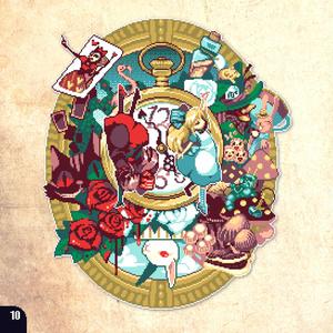 Alice in Wonderland of The dot