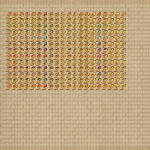 アイコンセット 11 ~石付の鍵~【24*24px】