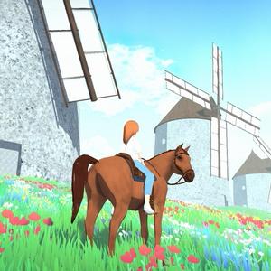【雰囲気ゲーム】マナと不思議な大草原